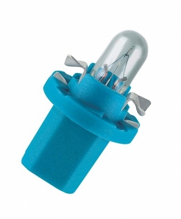 BAX 12V-1,2W (B8,4D) Light Blue