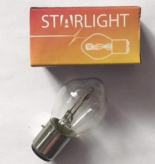 А/лампа А 12V-35/35W BA20d STAR LIGHT