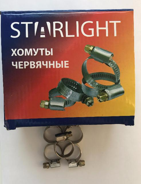 Хомут 16-27 (9mm 0.6mm) STARLIGHT