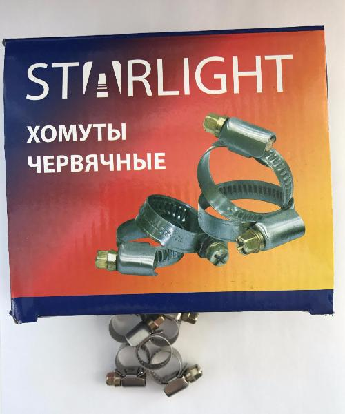 Хомут 10-16 (9mm 0.6mm) STARLIGHT